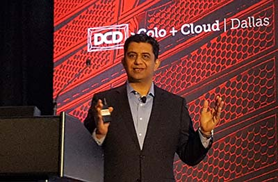 "Ron Batra of Equinix: ""Prepare for volumes of data you've never seen before."" (Photo: Rich Miller)"