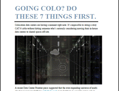 Thinking about Colocation? Do These 7 Things First