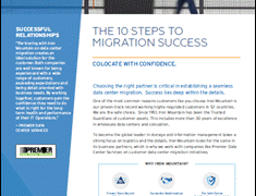 The 10 Steps to Data Center Migration Success