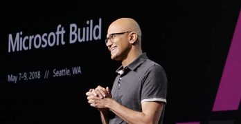 Microsoft CEO Satya Nadella speaks at the Microsoft Build conference in Seattle (Photo: Microsoft)