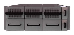 A Virtual Power Systems rack-mountable battery appliance. (Image: VPS)