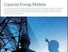 Capacity Energy Markets:  Pricing Knowledge is Power