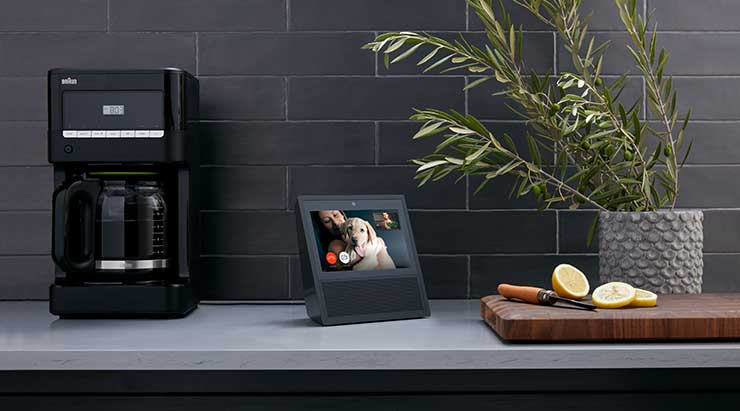 The Amazon Echo Show brings video to any surface in a home. (Photo: Amazon)