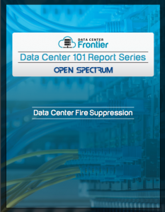 Data Center 101: Data Center Fire Suppression