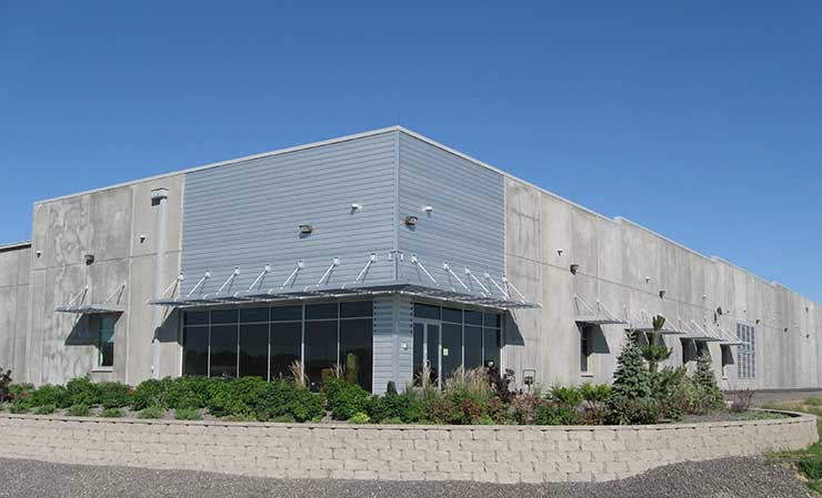 An exterior view of the former Intuit data center that has been acquired by H5 Data Centers. (Photo: H5 Data Centers)