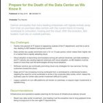 on-premises data centers