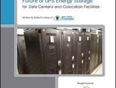 Lithium-Ion Batteries & Their Role in the Future of UPS Energy Storage for Data Centers