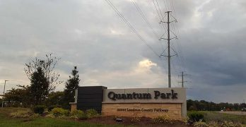 The historic Quantum Park development in Ashburn, which sits atop a major intersection of both power and fiber. (Photo: Rich Miller)
