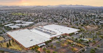 The Aligned Energy data center in Phoenix, Arizona, which is in the midst of a major expansion. (Photo: Aligned Energy)
