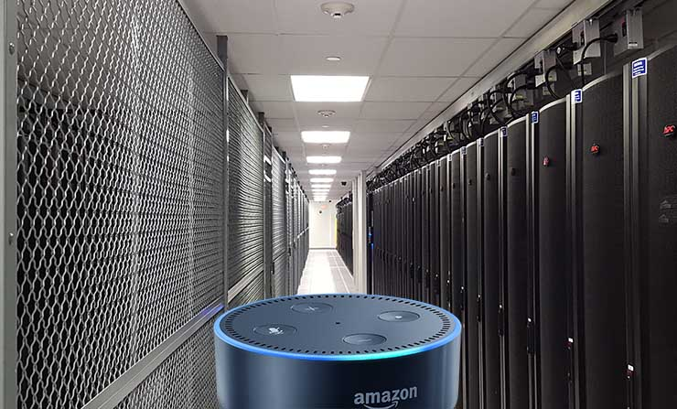 Can Voice Assistants Play A Role in the Data Center?