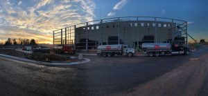 Vantage Data Centers fuels up the generators at the first building on its Ashburn campus. (Image: Vantage Data Centers)