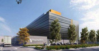 An illustration of the RagingWire Data Centers SV1 facility planned for Santa Clara, Calif. (Image: RagingWIre)
