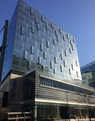 The Equinix SL1 International Business Exchange (IBX) in Seoul, South Korea. (Image: Equinix)