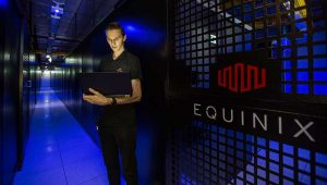 Equinix is among the data center companies that have publicly called for Dominion to boost its mix of renewable resources. (Photo: Equinix)