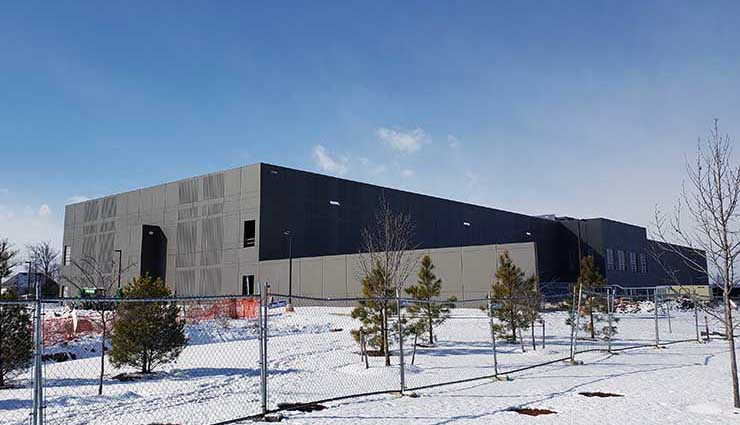 The new Building B at Sabey Data Centers' Intergate.Ashburn campus in Northern Virginia,. (Photo: Rich Miller)