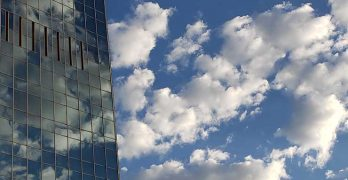 Enterprise customers are weighing the best options for taking advantage of cloud computing models. (Photo: Rich Miller)