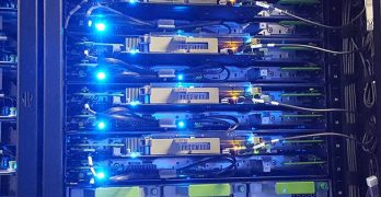 Servers inside a Facebook hyperscale data center in North Carolina. (Photo: Rich Miller)