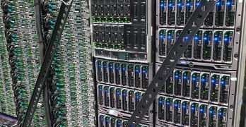 The emerging digital economy is powered by servers, storage and data centers. A rack of servers inside an Intel Corp. data center. (Photo: Rich Miller)