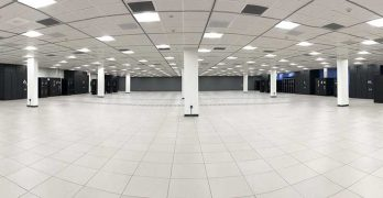 A data hall inside a CoreSite data center. The company is in expansion mode in 2019. (Image: CoreSite)