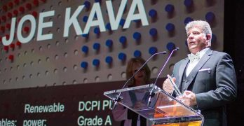 Joe Kava, who heads the data center operation at Google, is honored as the Infrastructure Masons 2019 Sustainability Champion at the recent Datacloud Congress in Monaco.