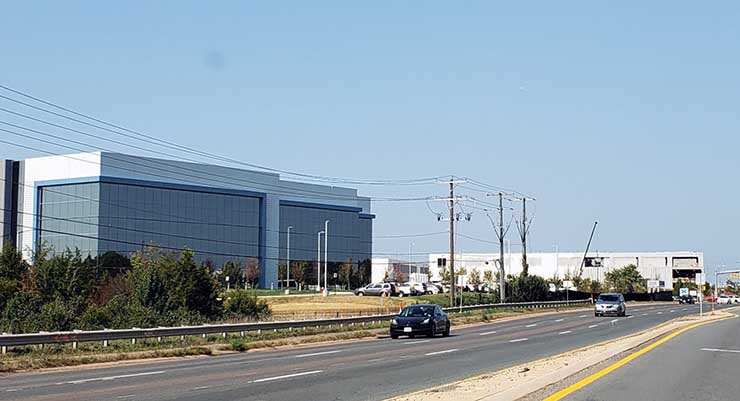 Pandemic Spurs Data Center Construction Boom in Northern Virginia