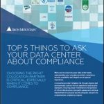data center compliance