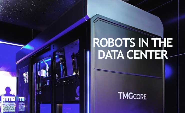 Will Robots Usher in the Lights-Out Data Center?