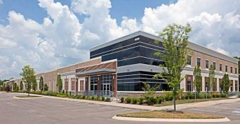The exterior of the Flexential data center facility near Nashville. (Photo: Flexential)