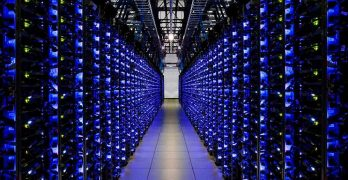 Servers inside a Google data center. Google Cloud will connect to the SpaceX Starlink satellite broadband network. (Photo: Google)