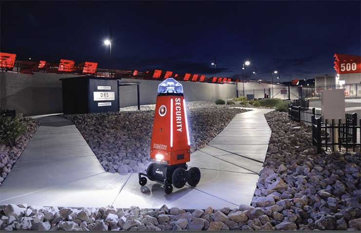 Switch Developing Security Robots to Patrol Edge Data Centers