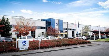 The NTT Global Data Centers Americas data center in Hillsboro, Oregon. (Photo: NTT)