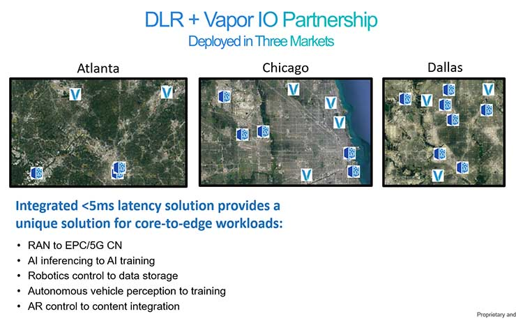 Digital Realty, Vapor IO Team on Integrated 'Core-to-Edge' Offering
