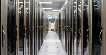Cabinets inside an Evoque Data Center Solutions facility in Dallas. (Photo: Evoque)