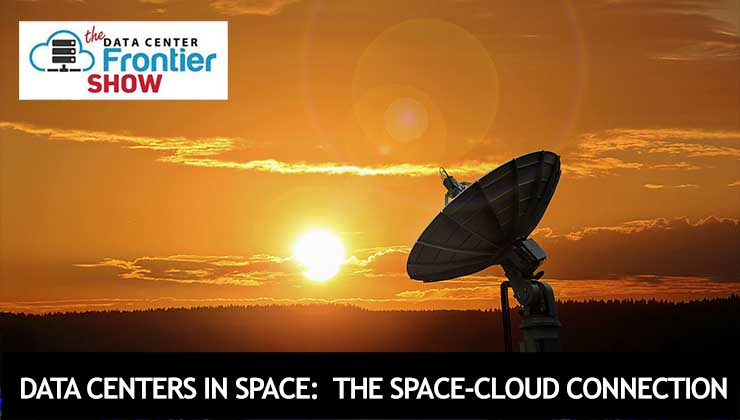 Data Centers in Space: The Space-Cloud Connection