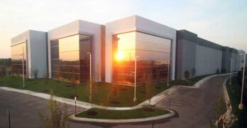 Digital Realty's Building P in Ashburn is among the multi-tenant data center facilities housing different types of workloads. (Photo: Digital Realty)