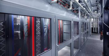 An interior view of a Switch Edge MOD 15 modular data center. (Image: Switch)