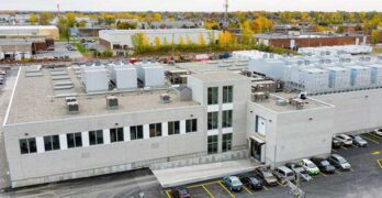 The Hypertec data center in Montreal. (Photo: Vantage Data Centers)