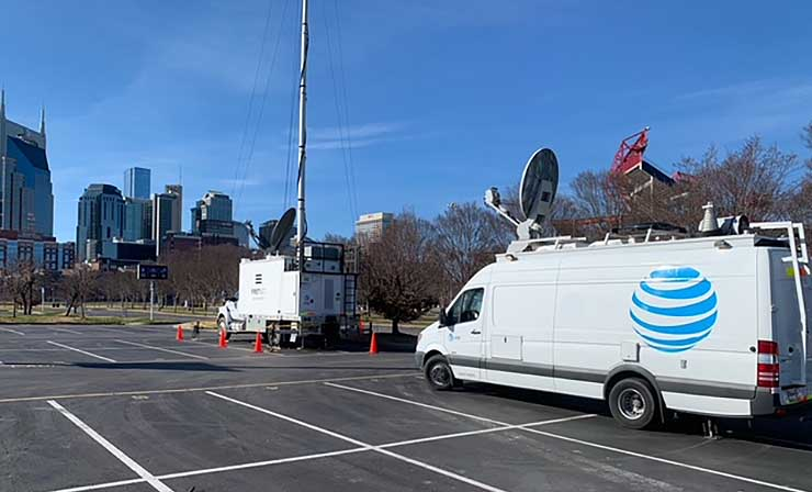 Nashville Explosion: AT&T Repairs Damage to its Building and Network