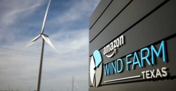The Amazon wind far in Texas that helps provide green energy for the AWS cloud. (Photo: Jordan Stead/ Amazon)