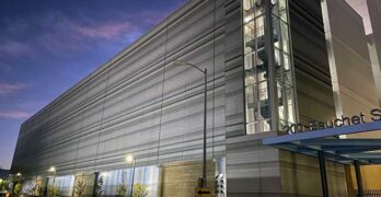 The new CoreSite LA3 data center in Los Angeles. (Photo: CoreSite)
