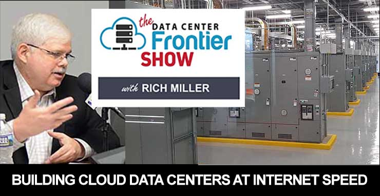 Building Cloud Data Centers at Internet Speed