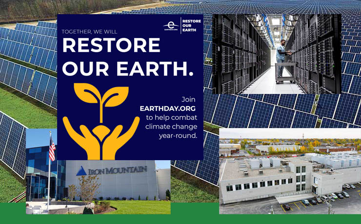 Earth Day 2021: Data Centers Move Beyond Power to Be More Sustainable