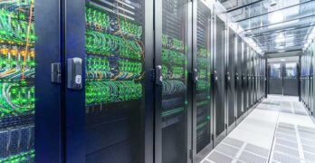 The vXchange data center in Santa Clara, which is being acquired by Cologix. (Photo: vXchange)