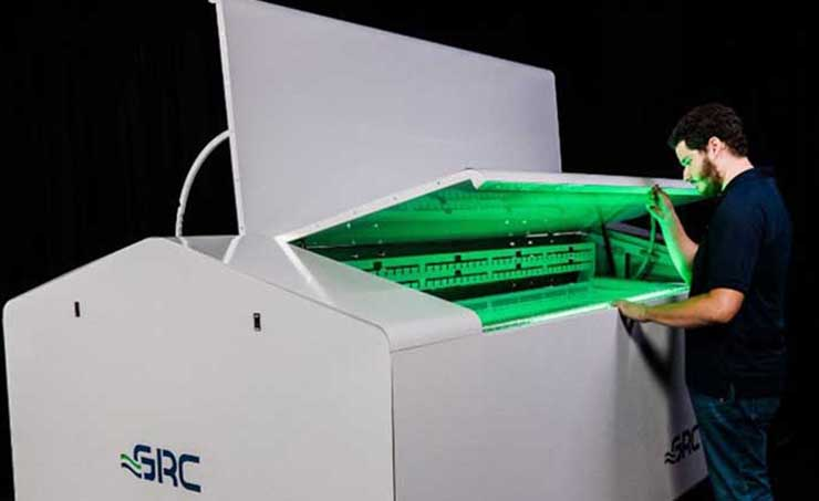 The GRC-ICEraQ-Series10 immersion cooling module for data centers. (Image: GRC)