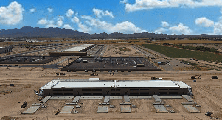 The Compass Datacenetrs campus in Goodyear, Arizona. (Photo: Compass Datacenters)