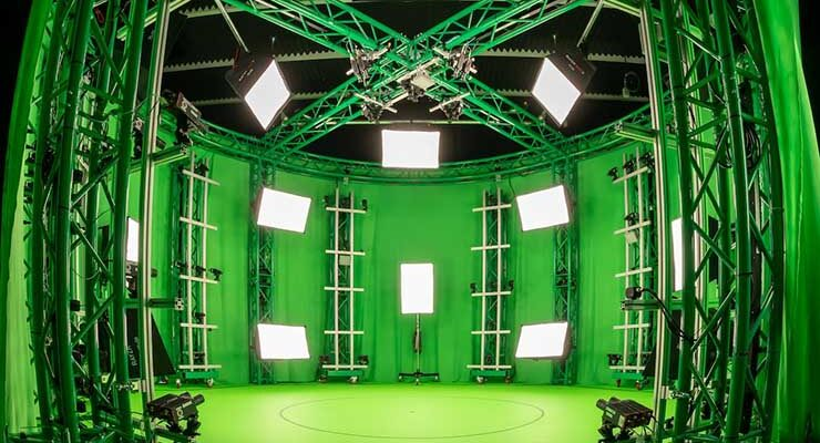 The volumetric capture studio for Avatar Dimension inside the Sabey Data Centers campus in Ashburn, Virginia. (Image: Avatar Dimension)