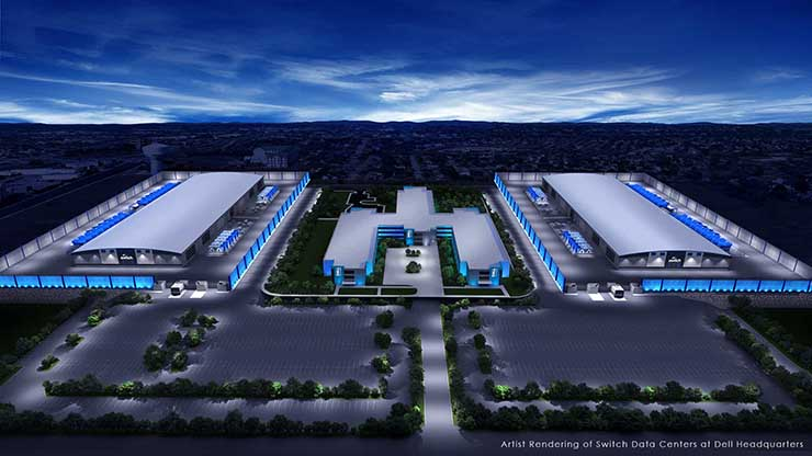 Switch to Build Huge Data Center Campus at Dell HQ Near Austin