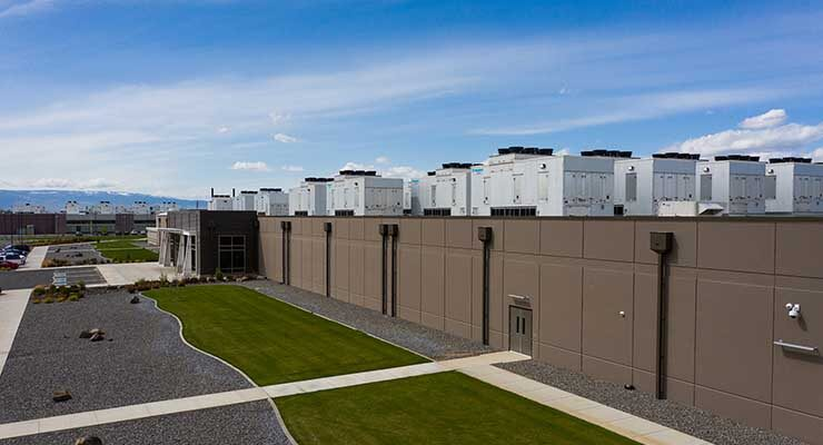 The Sabey Data Centers facility in Quincy, Washington. (Image: Sabey)
