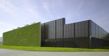 Iron Mountain is acquiring this data center in Frankfurt, Germany. (Image: Keppel)