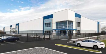 An illustration of the Aligned SLC-04 data center, a build-to-suit project for a customer. (Image: Aligned)